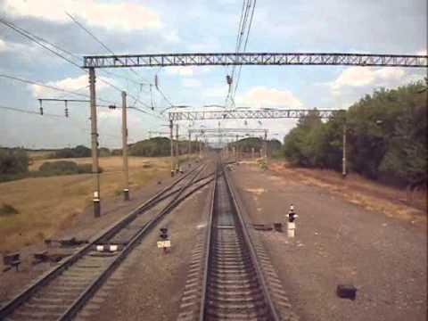 Балашов - Пенза. Маршрут глазами машиниста. Balashov - Penza. Rout By Train Engineer Eyes