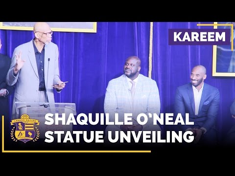 Kareem Abdul-Jabbar's Speech At Shaq's Statue Unveiling (He's Got Jokes!)