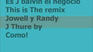 Sin compromiso remix con letra - J. Bálvin Ft. Jowell & Randy