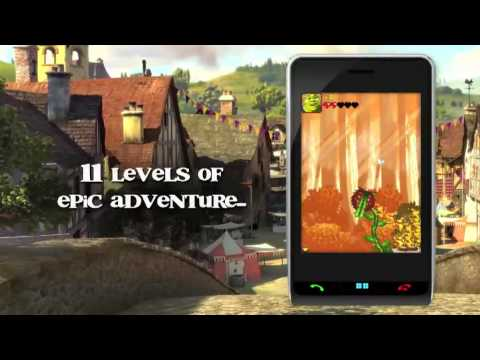 Shrek Forever After: The Mobile Game, Trailer By Gameloft