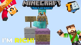 AMAZING DEALS! | Truly Bedrock Season 2 [2] | Minecraft Bedrock Edition 1.14 SMP