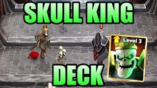 BEST SKULL KING DECK I BEST STRATEGY I Castle Crush SPAM Deck I NEW Skull King & Spectre Deck
