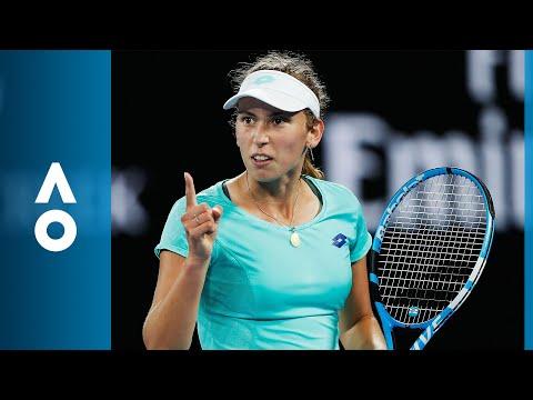 Daria Gavrilova v Elise Mertens match highlights (2R) | Australian Open 2018