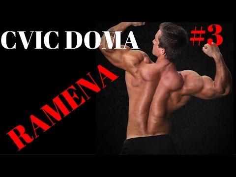 CVIČ DOMA #3 - RAMENA ( bez vybavení )