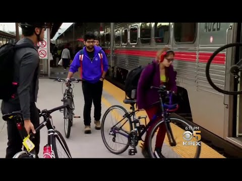 To Accommodate Caltrain's 6,000 Daily Cyclists, Bikes Board First