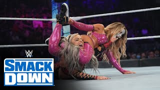 Liv Morgan vs Carmella Queen s Crown Tournament First Round Match SmackDown Oct 8 2021