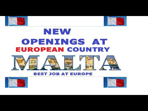 TECHNICIAN JOBS AT MALTA EUROPE 2019//HOW TO GET JOB IN MALTA EUROPE//LATEST OPENINGS AT EUROPE