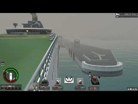 Ship Simulator Extremes backing up a ferry into dock (calais) |