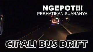 NYARIS CRASH & NGEPOT!!! Goyangan maut bus Haryanto di Tol Cipali