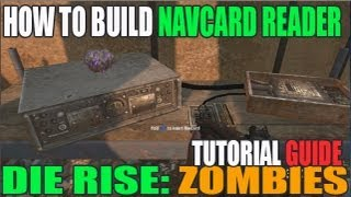 Die Rise: How To Build The Nav Card Reader Table | Black Ops 2 Revolution Dlc