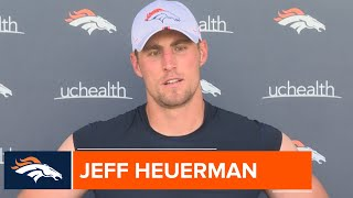 Jeff Heuerman: 'It's a fun offense for tight ends'