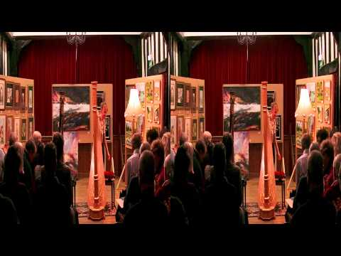 Danielle Perrett Harp recital part 1 in HD and 3D