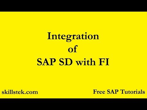 Integration of SD & FI in SAP | SD Settings in FICO | SAP FI SD Integration  Configuration Steps