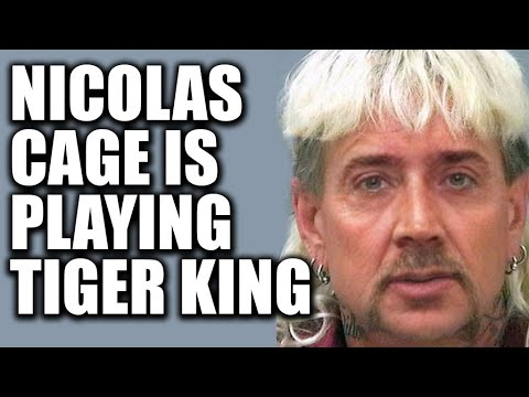 Nicolas Cage to Play 'Tiger King's' Joe Exotic in Scripted Series ...