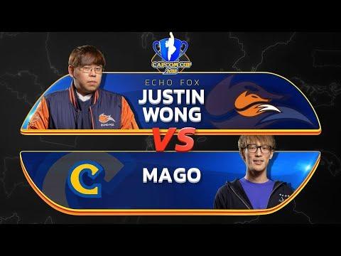 Justin Wong (Menat) Vs Mago (Cammy) - Capcom Cup 2018 Main Stream - CPT2018