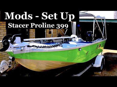 Stacer Proline 399, Set up for fishing