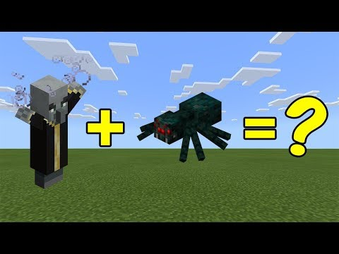 I Combined An Evoker And A Cave Spider In Minecraft - Here's WHAT Happened...