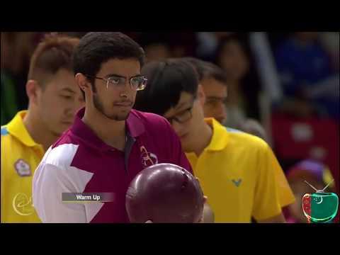 Asgabat 2017 Bowling Qatar & Chinese Taipei