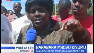 Wenyeji wa Kisumu walalamika kuhusu barabara mbovu |MBIU YA KTN