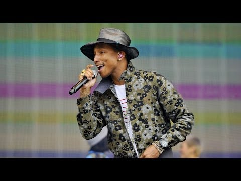 Pharrell Williams  Happy BBC Radio 1s Big Weekend 2014