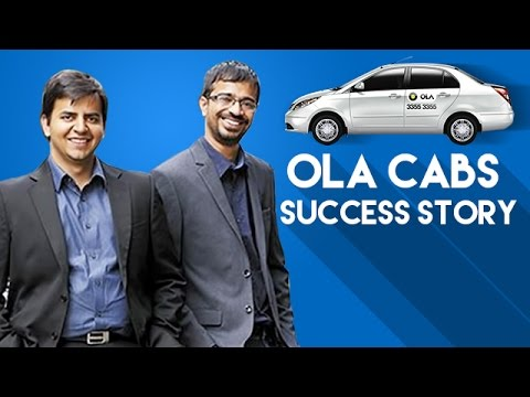 Thumbnail: OLA Cabs Success Story | OLA Founders Bhavish Aggarwal and Ankit Bhati Biography | Startup Stories