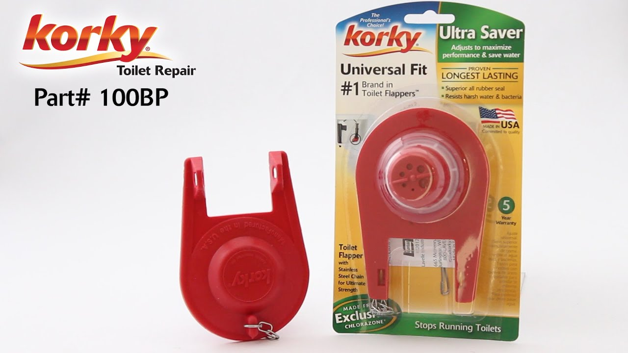 water saver toilet flapper. Adjustable Ultra Water Saver Flapper 100  Korky Toilet Repair YouTube