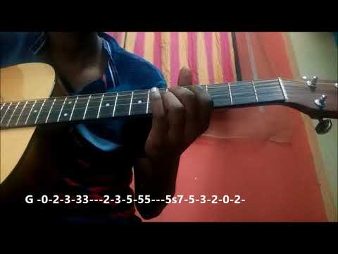 Tholi Prema Title Song | Guitar Tabs for Beginners