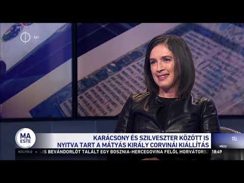 Mátyás király corvinái – nagy sikere van a corvina-kiállításnak – M1 TV