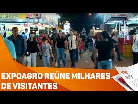 Expoagro reúne milhares de visitantes - TV SOROCABA/SBT