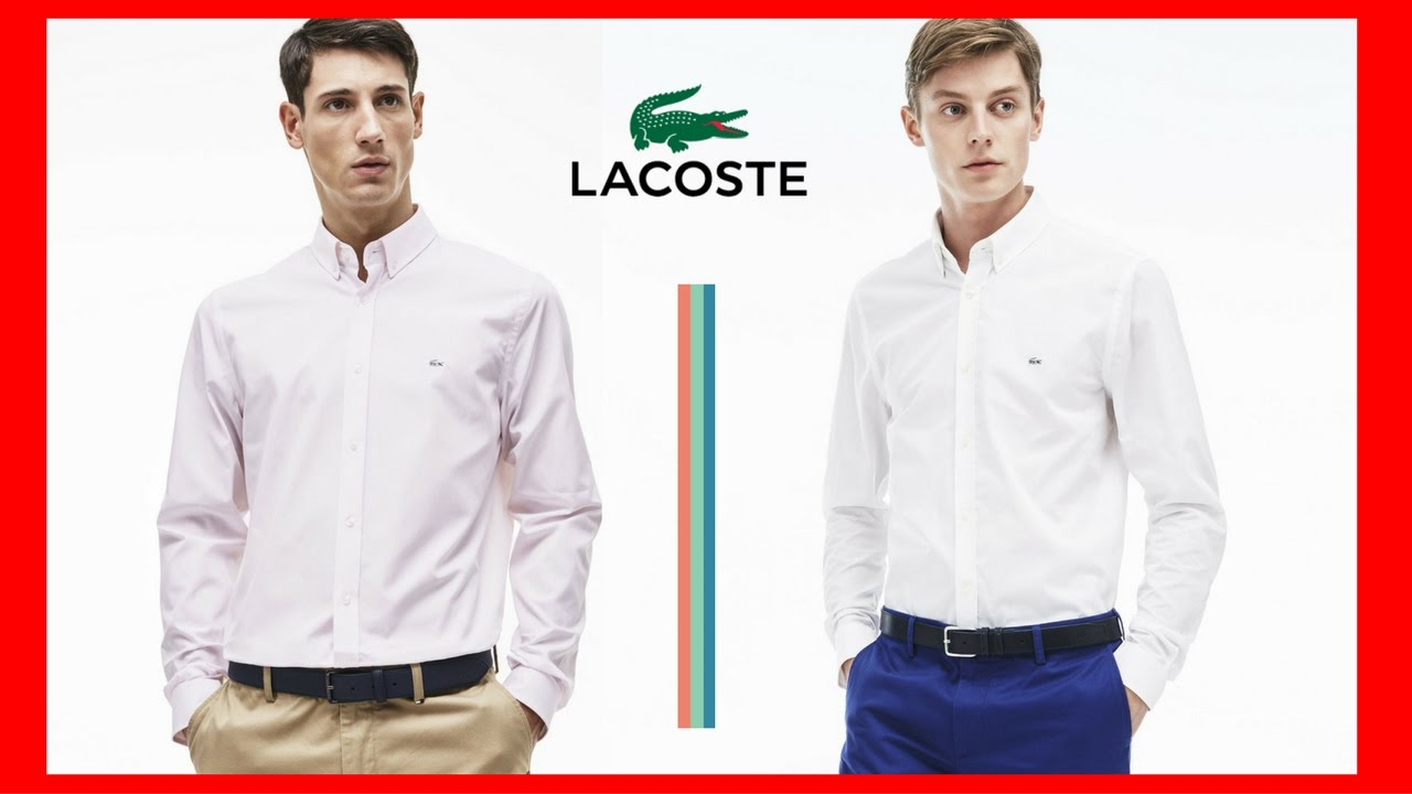 Camisa Lacoste - 100 % Original  Loja de Outlet - Miami-USA  - YouTube 6ac5c1352c