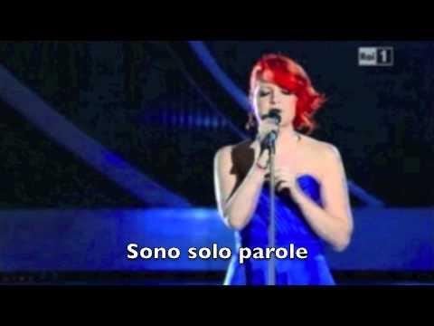 Sono solo parole - Noemi [Sanremo 2012] + Lyrics