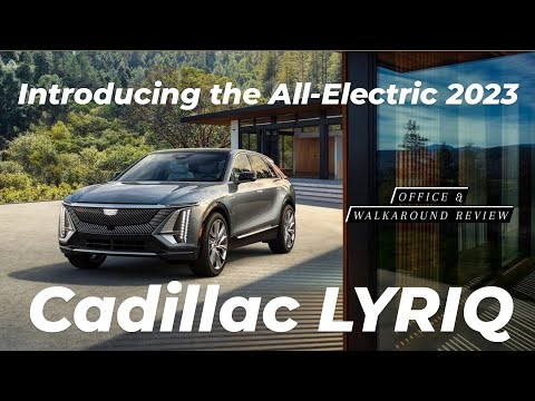 2023 Cadillac LYRIQ Debuts, Heralding an All-Electric Future | Official & Walkaround review | WOCI
