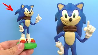 Making Sonic The Hedgehog With Clay