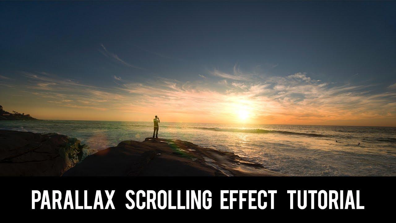 wordpress tutorial video parallax scrolling effect tutorial