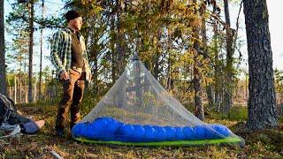 Minimalist Camping in the Serene Wilderness