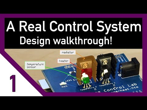 A Real Control System - How To Start Designing