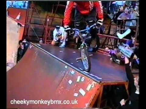 Kurt Schmidt - Southsea KOC King of Concrete Mini Ramp BMX Competition, 1993