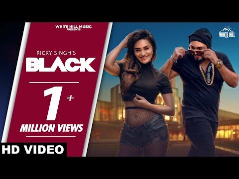 Black (Full Song) | Ricky Singh | New Punjabi Song 2020 | White Hill Music
