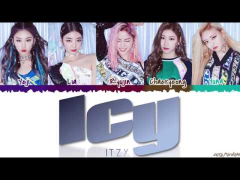 ITZY (있지) - 'ICY' Lyrics [Color Coded_Han_Rom_Eng]