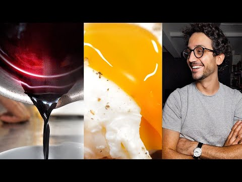 6 Chef Skills I Learnt Making Poached Eggs in Wine Sauce