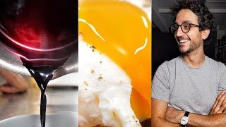 6 Chef Skills I Leąrnt Making Poached Eggs in Wine Sauce