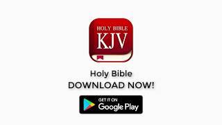 Holy Bible - King James Version (KJV Bible) Offline, Audio, Free Download screenshot 2