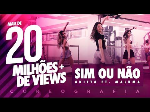 Sim Ou Não - Anitta Ft. Maluma - Coreografia |  FitDance - 4k thumbnail