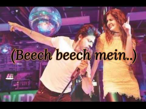 Beech Beech Mein Full Song Lyrics  Jab Harry Met Sejal  ShahRukh Khan & Anushka Sharma  Arijit Singh