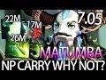 9K MMR Carry NP 7.05 META by Matumba Top Gameplay Dota 2