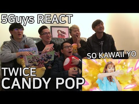 [FUNNY FANBOYS] TWICE - Candy Pop (5Guys MV REACT)