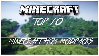 Minecraft - TOP 10 - HQM Modpacks!