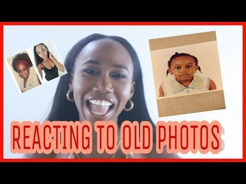 REACTING TO OLD PHOTOS| JEWELLE JA