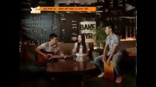 yan vpop20  thu thuy live acoustic ca khuc khoang cach