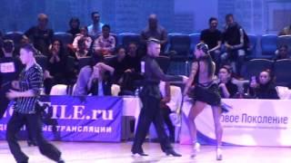 Baixar WDSF Open Latin 1/16 samba Sergey Erushov - Victoria Esatia